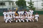 埼玉県学童深谷予選会優勝の桜ヶ丘小少年野球の皆さん